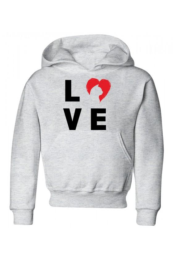 Bluza Dziecięca z Kapturem True Love