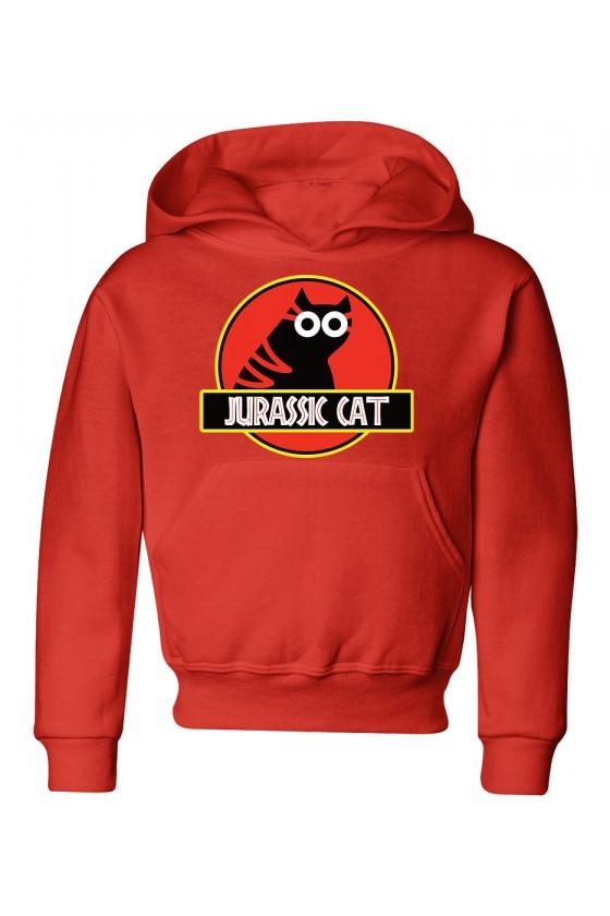Bluza Dziecięca z Kapturem Jurassic Cat