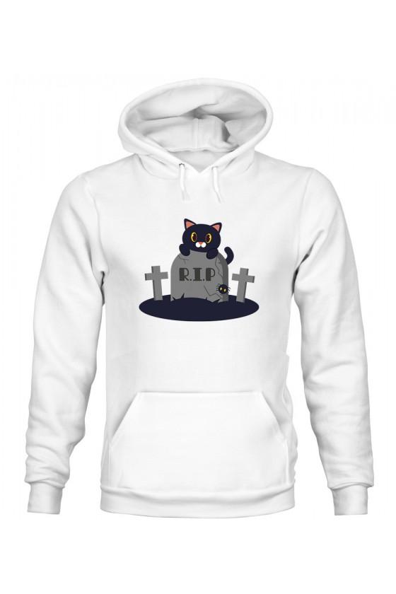 Bluza z Kapturem Męska Koci Grabarz