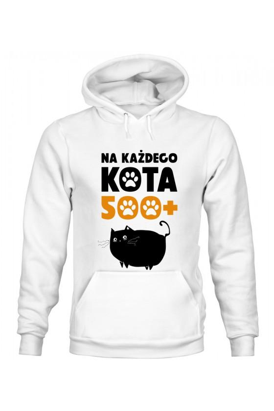 Bluza z Kapturem Męska Na Każdego Kota 500+