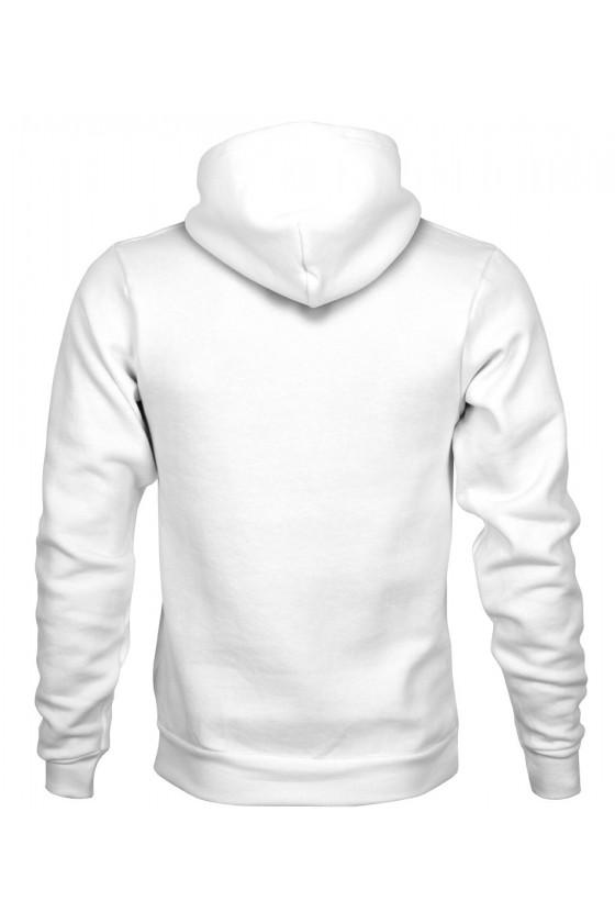 Bluza z Kapturem Męska Abstrakt