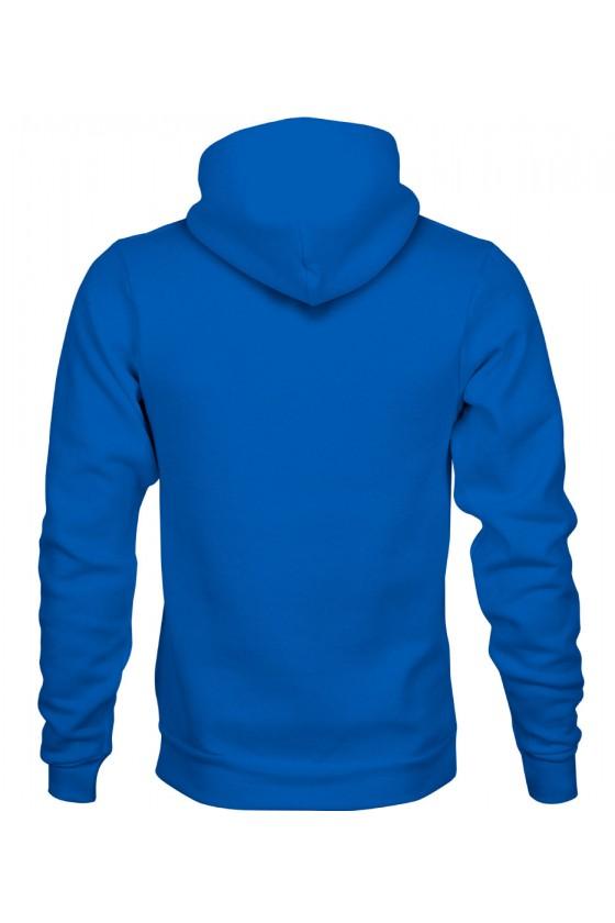 Bluza z Kapturem Męska Własność Twojego Kota Premium
