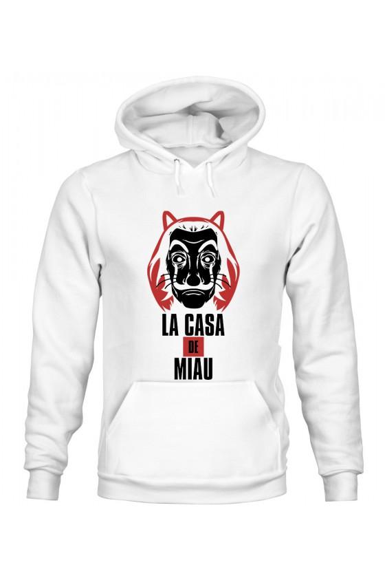 Bluza z Kapturem Męska La Casa De Miau 2