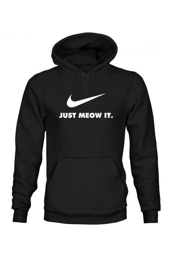 Bluza z Kapturem Męska Just Meow It