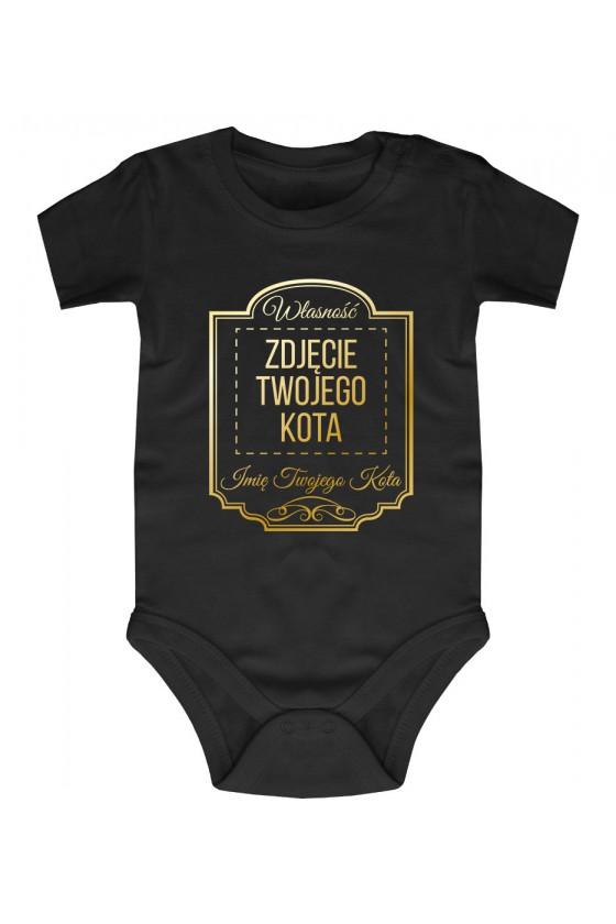 Body Niemowlęce Własność Twojego Kota Premium