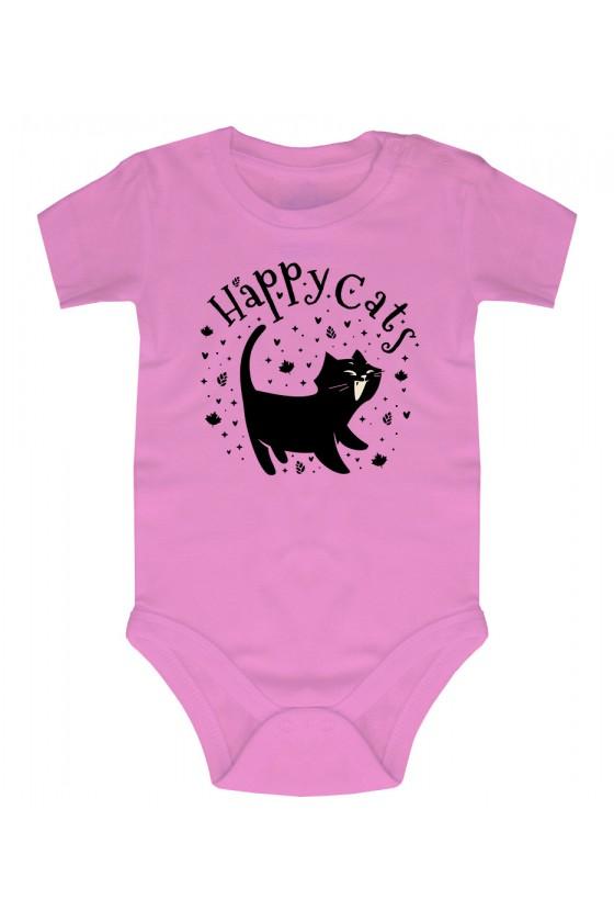 Body Niemowlęce Happy Cats