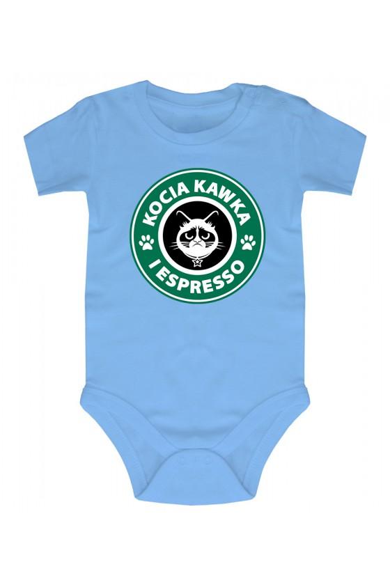 Body Niemowlęce Kocia Kawka I Espresso 2