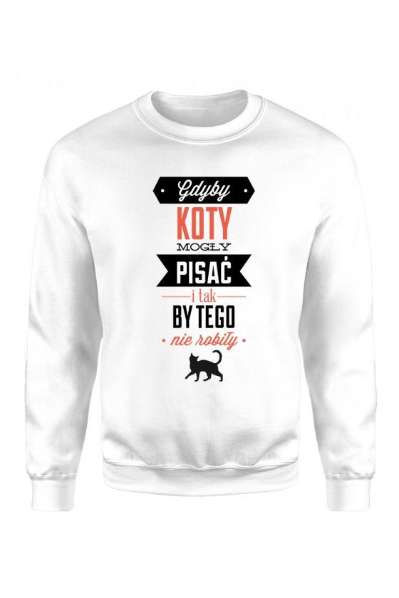 Bluza Klasyczna Damska Gdyby Koty Mogły Pisać I Tak By Tego Nie Robiły Kolorowa 2
