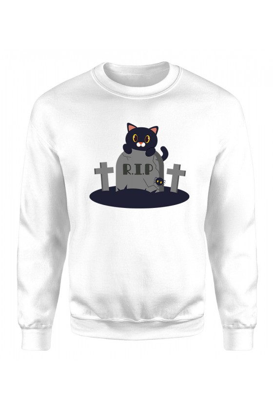 Bluza Klasyczna Damska Koci Grabarz