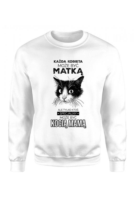 Bluza Klasyczna Damska Kocia Mama