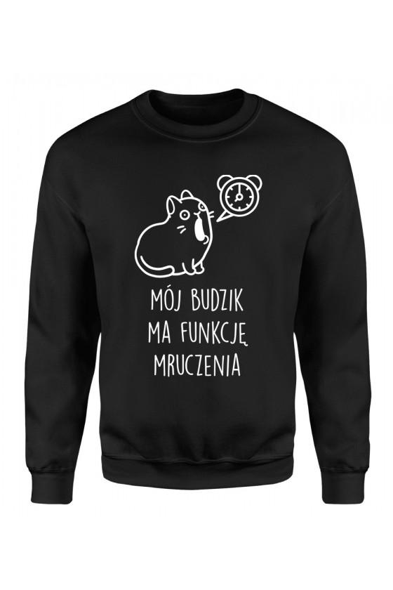 Bluza Klasyczna Damska Mój Budzik Ma Funkcję Mruczenia