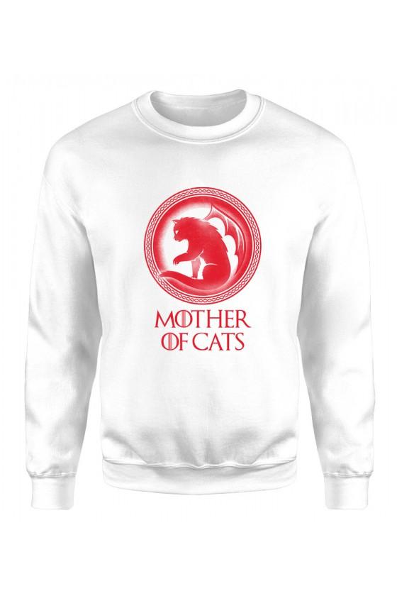 Bluza Klasyczna Damska Mother Of Cats 2