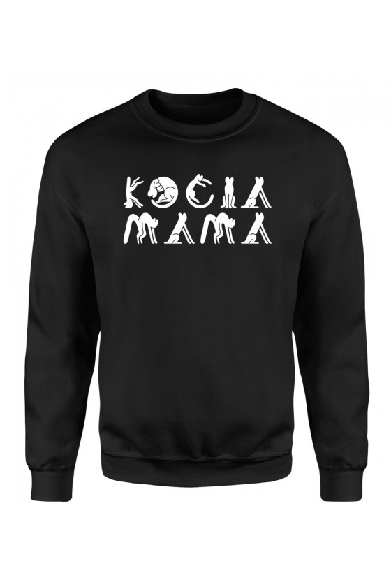 Bluza Klasyczna Damska Kocia Mama 2