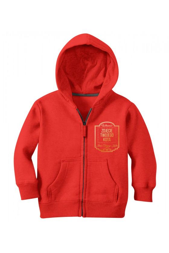 Bluza Dziecięca Rozpiana Własność Twojego Kota Premium