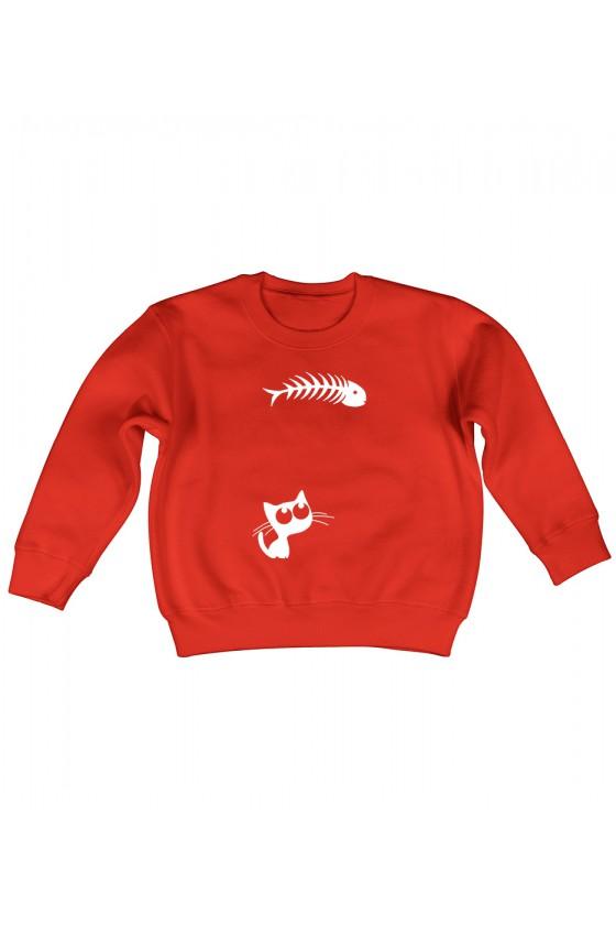 Bluza Dziecięca Bez Kaptura Chrapka Na Rybkę