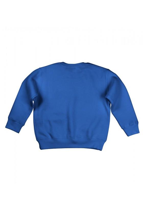 Bluza Dziecięca Bez Kaptura Cukierek Albo Czyścisz Kuwetę