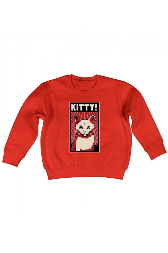 Bluza Dziecięca Bez Kaptura Kitty!