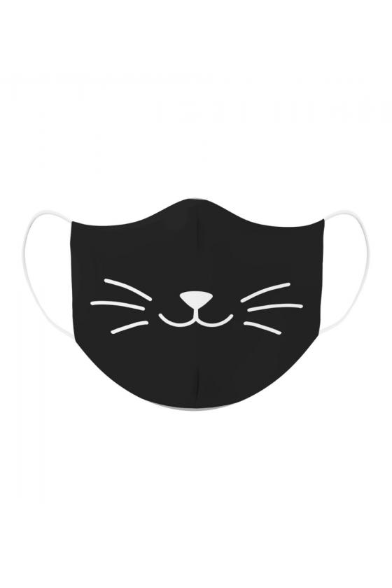 Kolorowa Maseczka - Kocie Wąsy
