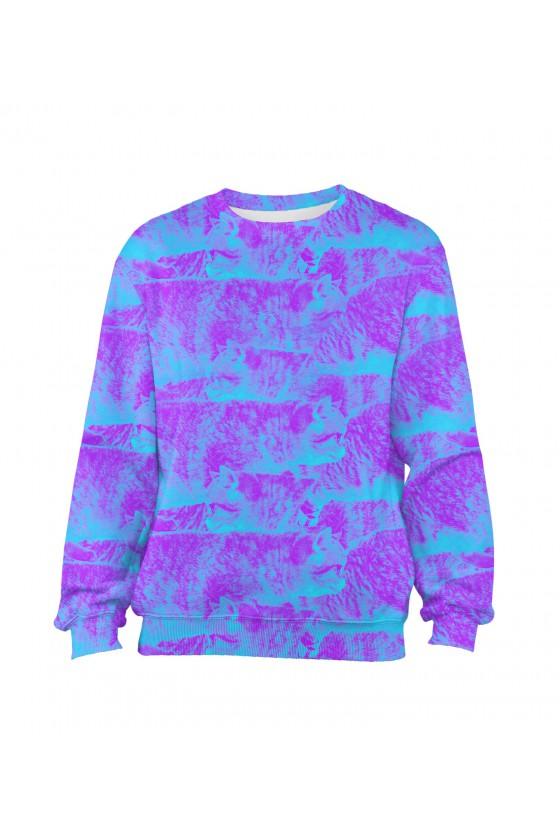 Bluza Klasyczna FullPrint -...